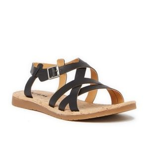 NEW Korks Jerrik Loop Strappy Sandals 8.5